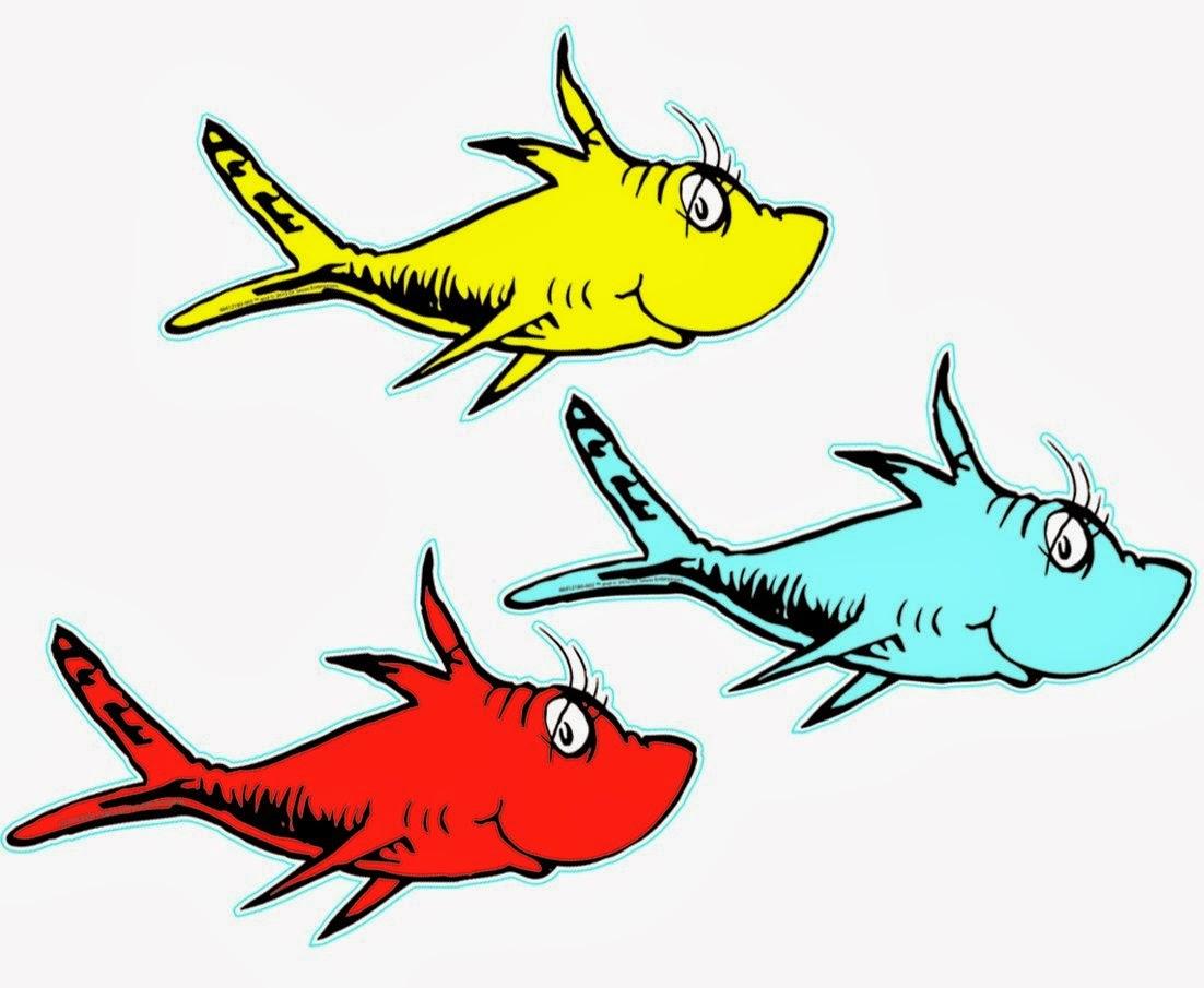 Two Fish Dr Seuss Clipart-two fish dr seuss clipart-19