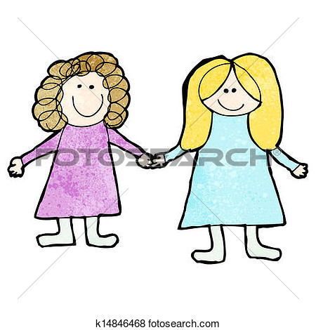 two friends holding hands .-two friends holding hands .-9