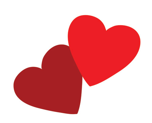 Two Heart Images Clipart ... modernization clipart