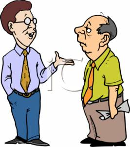 Two Men Talking Clipart Panda - People Talking Clip Art