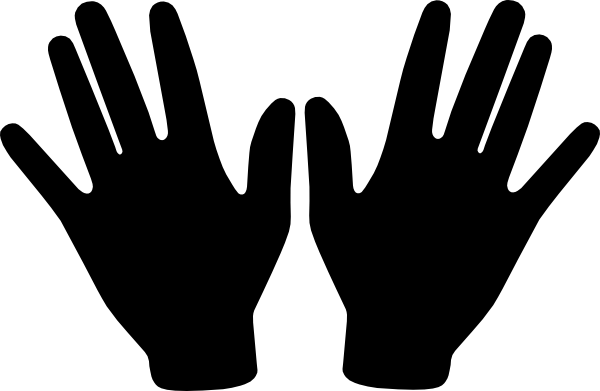 Two Open Hands Clipart Two Open Hands Hi Png
