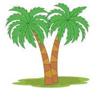 Two Palm Trees Clipart Size: 101 Kb-Two Palm Trees Clipart Size: 101 Kb-17