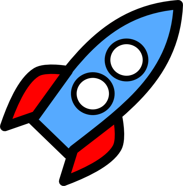 Two Window Rocket Clip Art At - Rocket Ship Clipart