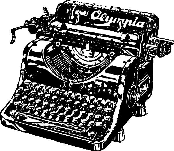 Typewriter Clip Art At Clker Com Vector -Typewriter Clip Art At Clker Com Vector Clip Art Online Royalty-5