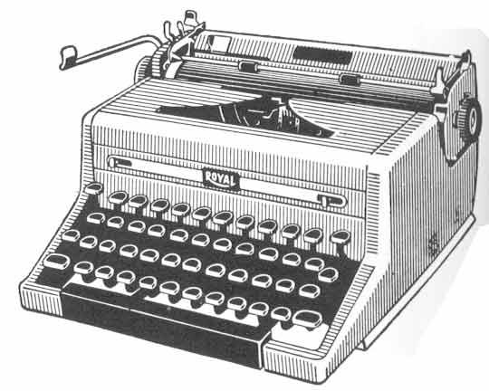 Vintage Typewriter - Retro Cl