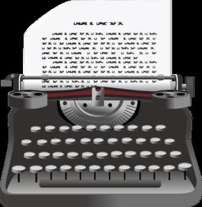Typewriter Clip Art-Typewriter Clip Art-17