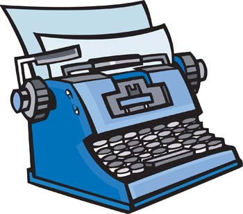 Typewriter Clipart Cliparts Co