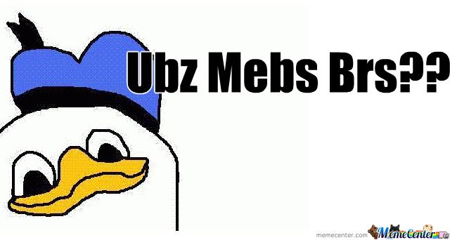 U Mad Bro [Dolan]