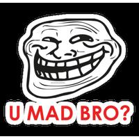 U Mad Bro Png PNG Image