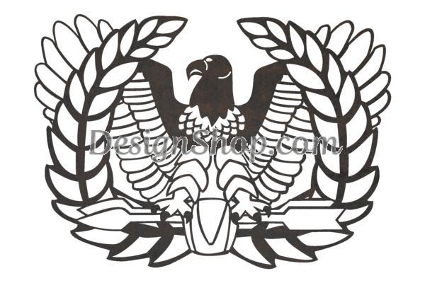 U.S. Army Rising Eagle Stock Art-U.S. Army Rising Eagle Stock Art-17