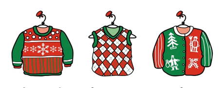 Ugly christmas sweater printable. Clipart clipartlook