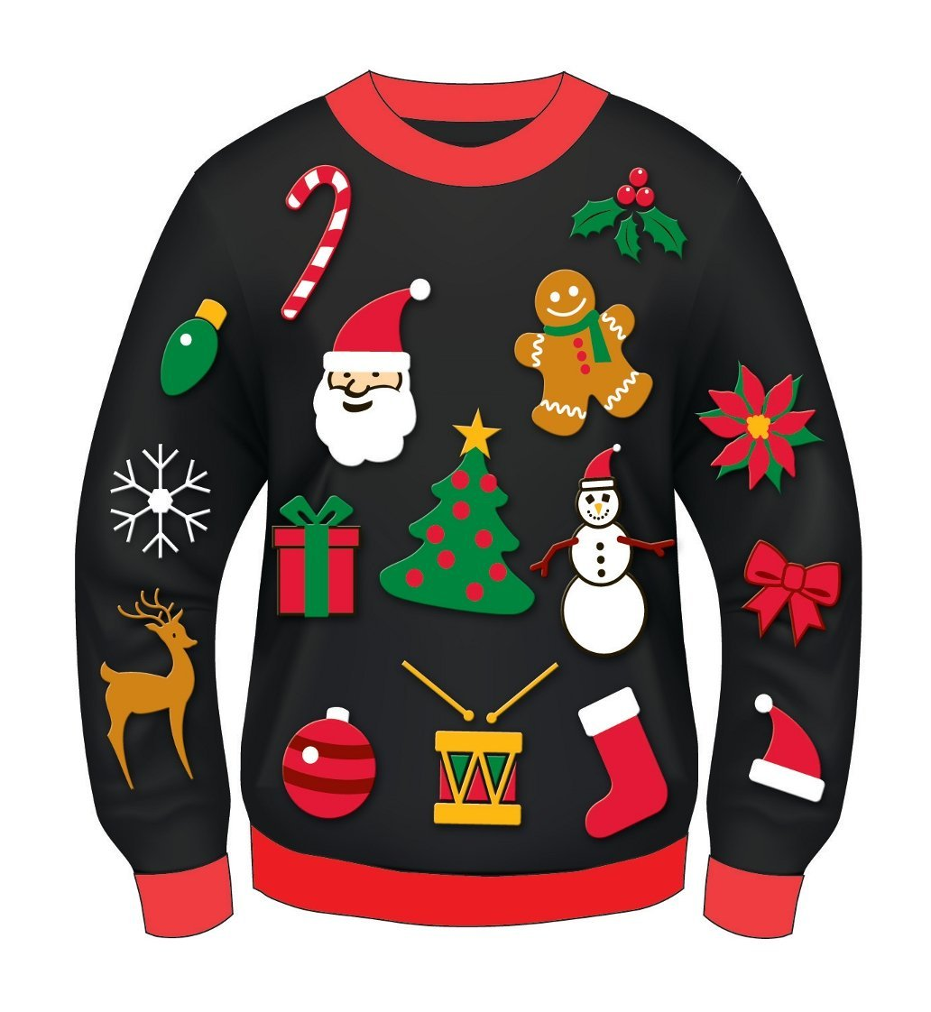 Ugly Sweater. Ugly Sweater. U - Ugly Christmas Sweater Clipart