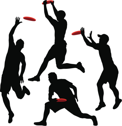 Ultimate Frisbee Clip Art-Ultimate Frisbee Clip Art-17