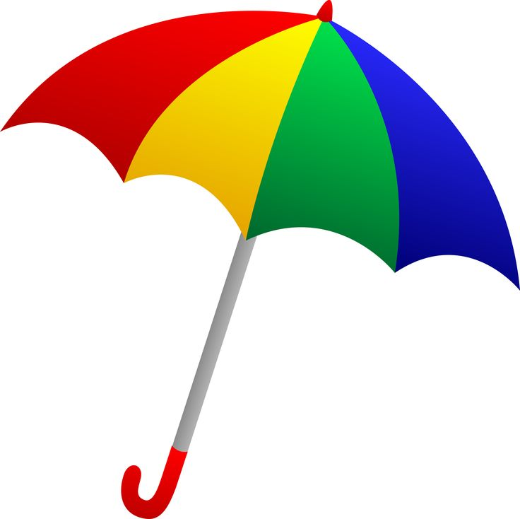 ... Umbrella clip art; Colourful umbrella clipart ...