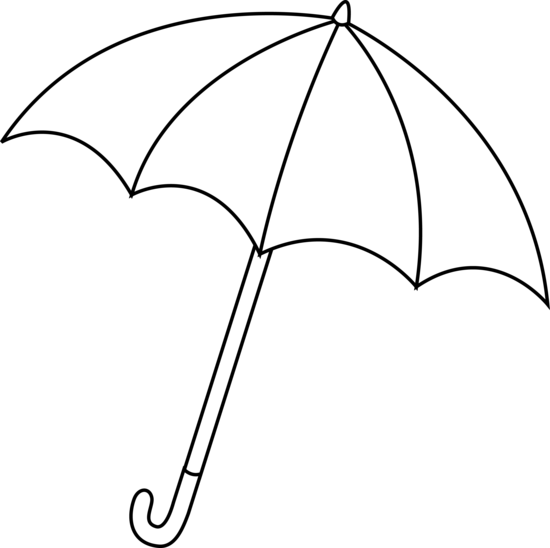 umbrella clipart - Clip On Umbrella
