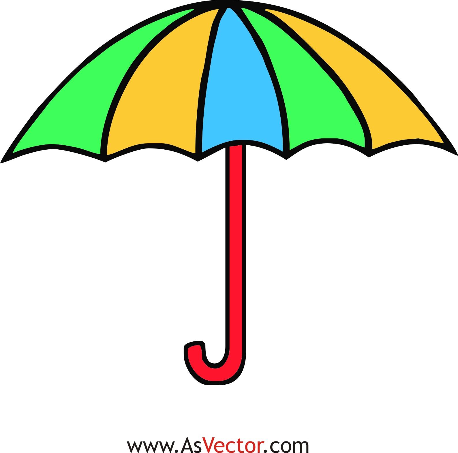 Umbrella clipart clipart . - Umbrella Clip Art Free