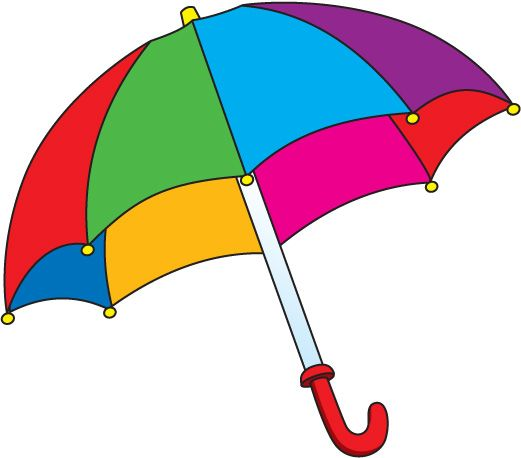 Nice Umbrella Clip Art Images Freeimages-Nice Umbrella Clip Art Images Freeimageshub | bērnudārzs | Pinterest | Art  images, Clip art and 3d sheets-0
