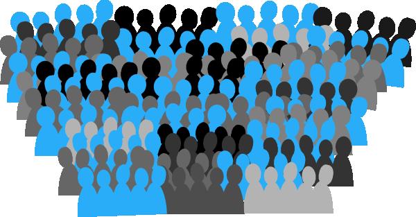 Unc Crowd Clip Art At Clker Com Vector Clip Art Online Royalty Free