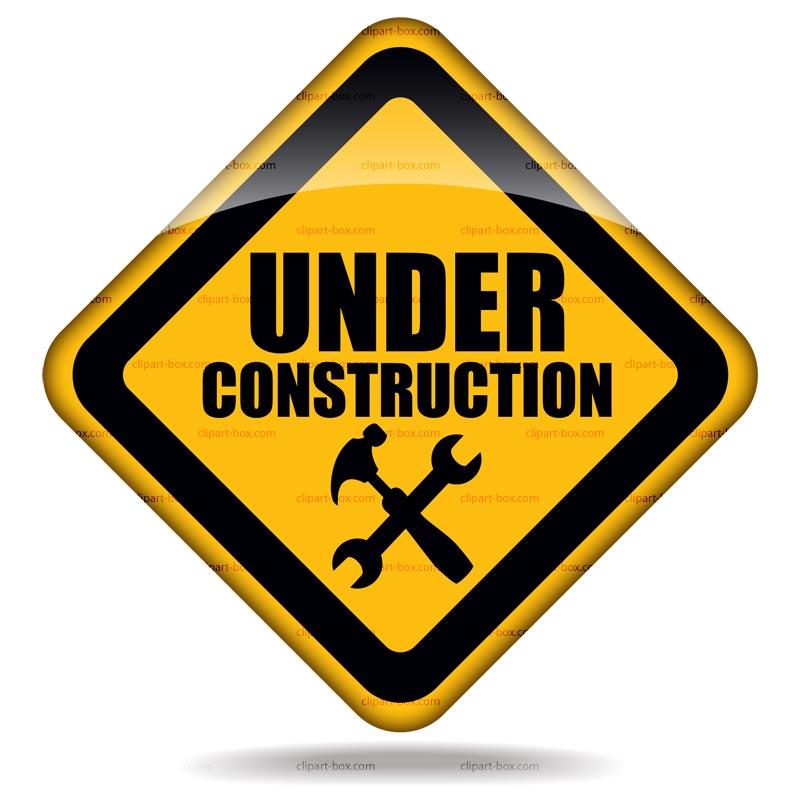 under construction clipart
