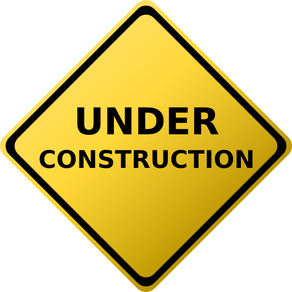 Under Construction Sign Clip Art At Clker Com Vector Clip Art Online