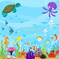 under the sea clip art free .