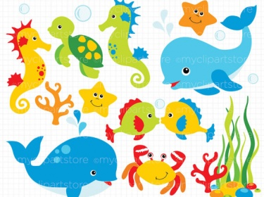 Under the sea fish clipart - ClipartFox