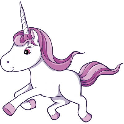 Unicorn cartoon animal images clip art