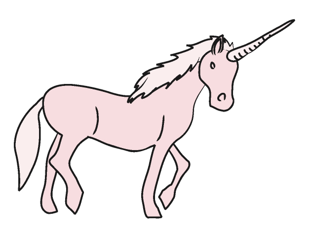 12 Unicorn Cartoon Free Clipa