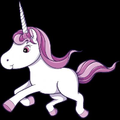 Unicorn clip art free vector .-Unicorn clip art free vector .-11