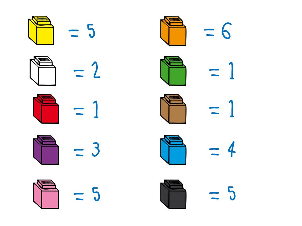 16 Unifix Cubes Clipart Clipartlook