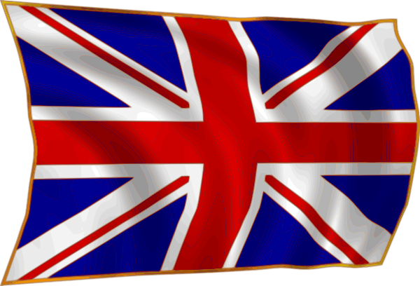 Union Flag Fluttering In Breeze Clip Art At Clker Com Vector Clip