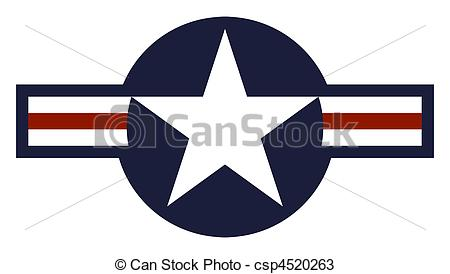 United States Air Force Roundel - Illustration of United.