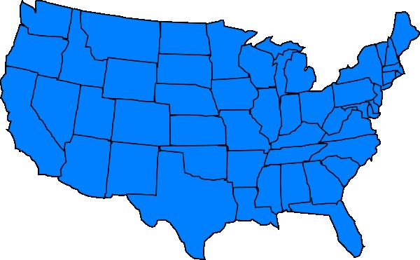 United States Clip Art - United States Clipart