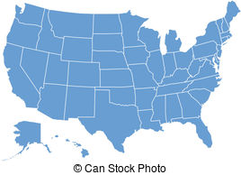 United States Map - United States Clipart