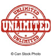 Unlimited sign or stamp