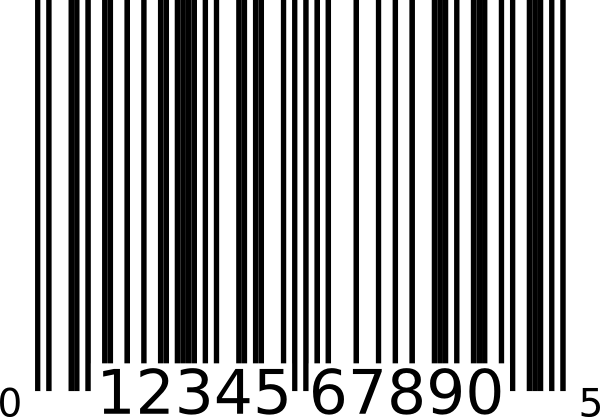 Upc A Bar Code Clip Art At Clker Com Vector Clip Art Online Royalty