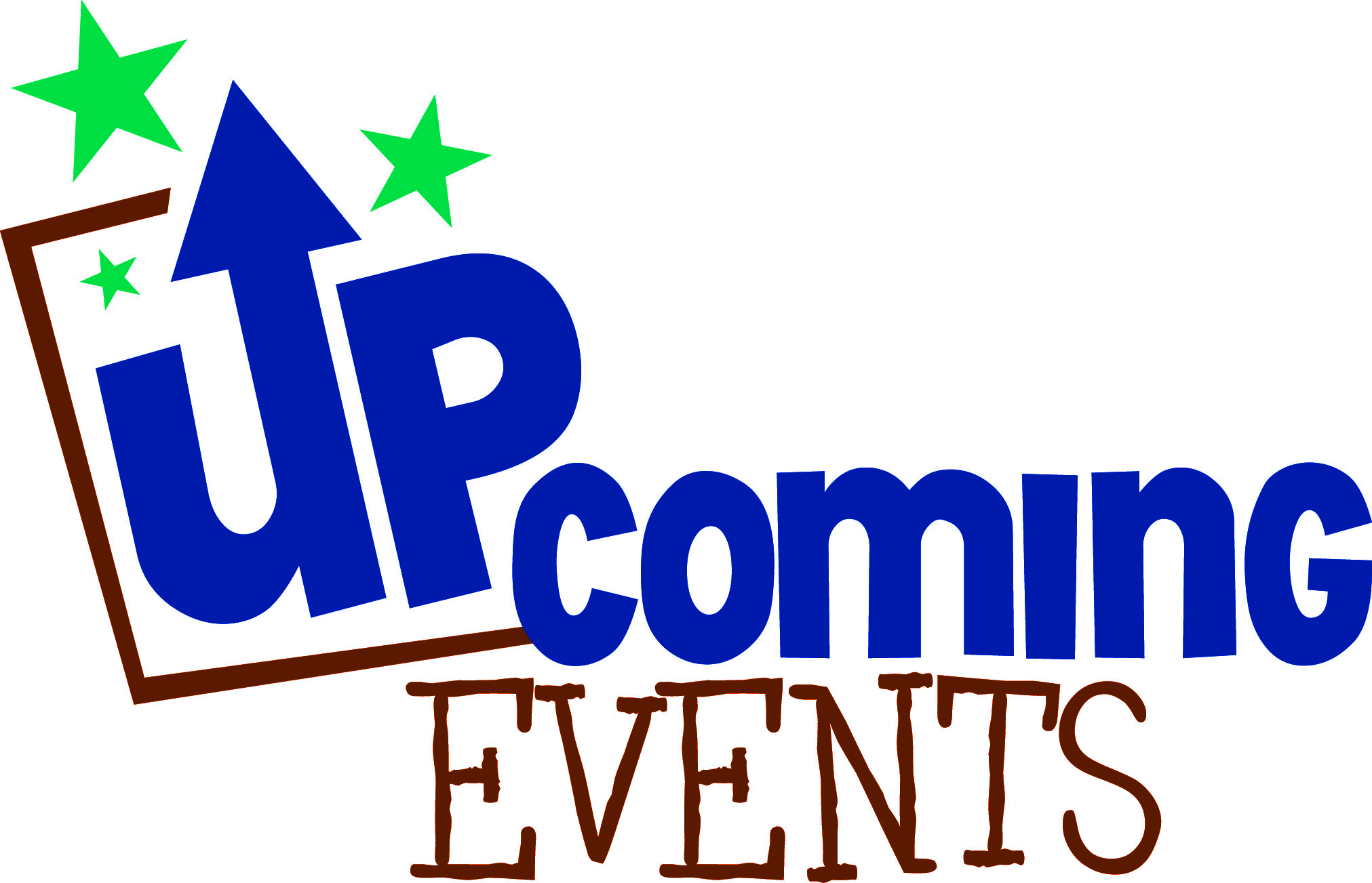upcoming events clip art