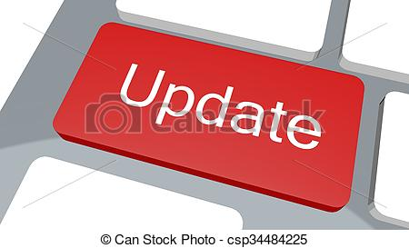 Update button on keyboard - csp34484225