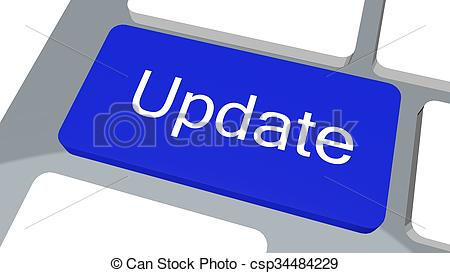 Update button on keyboard - csp34484229