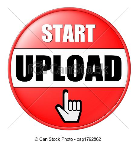 start upload button - csp1792862-start upload button - csp1792862-20