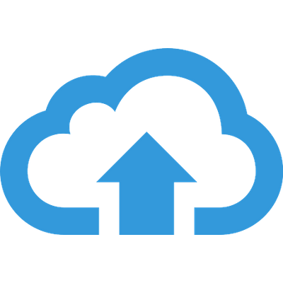 Upload To Cloud Blue Button-Upload To Cloud Blue Button-21
