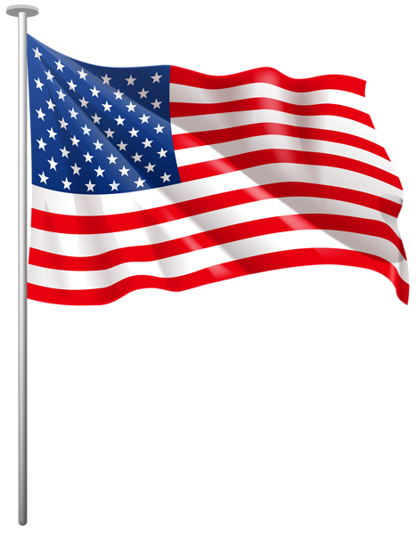 Us flag american flag usa clipart