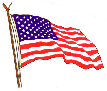 Us flag american flag usa waving clipart clipartcow