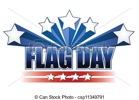 ... US Flag Day Stars Illustration Desig-... US flag day stars illustration design over white-17