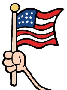 Us flag free flag clip art image hand ho-Us flag free flag clip art image hand holding an american-8