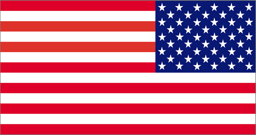Us Flag Graphic - Clip Art American Flag