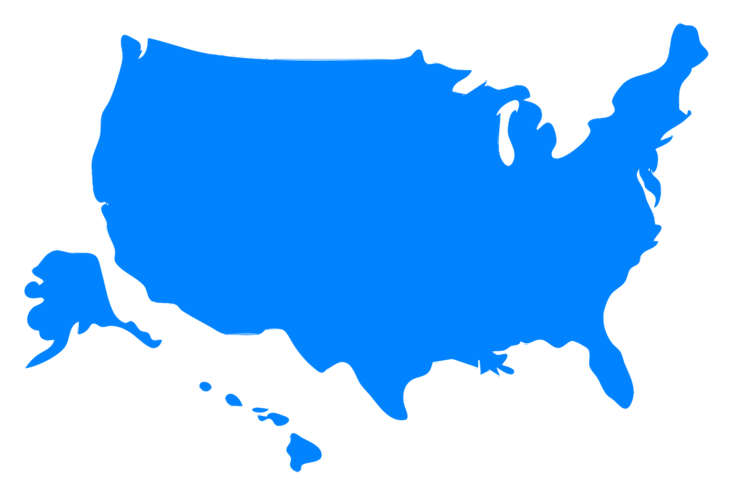 Us map clipart usa map .