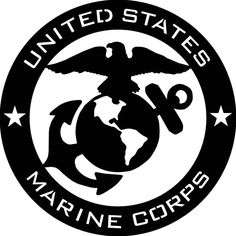 US Marine Corps USMC Abstract - Marine Corps Emblem Clip Art