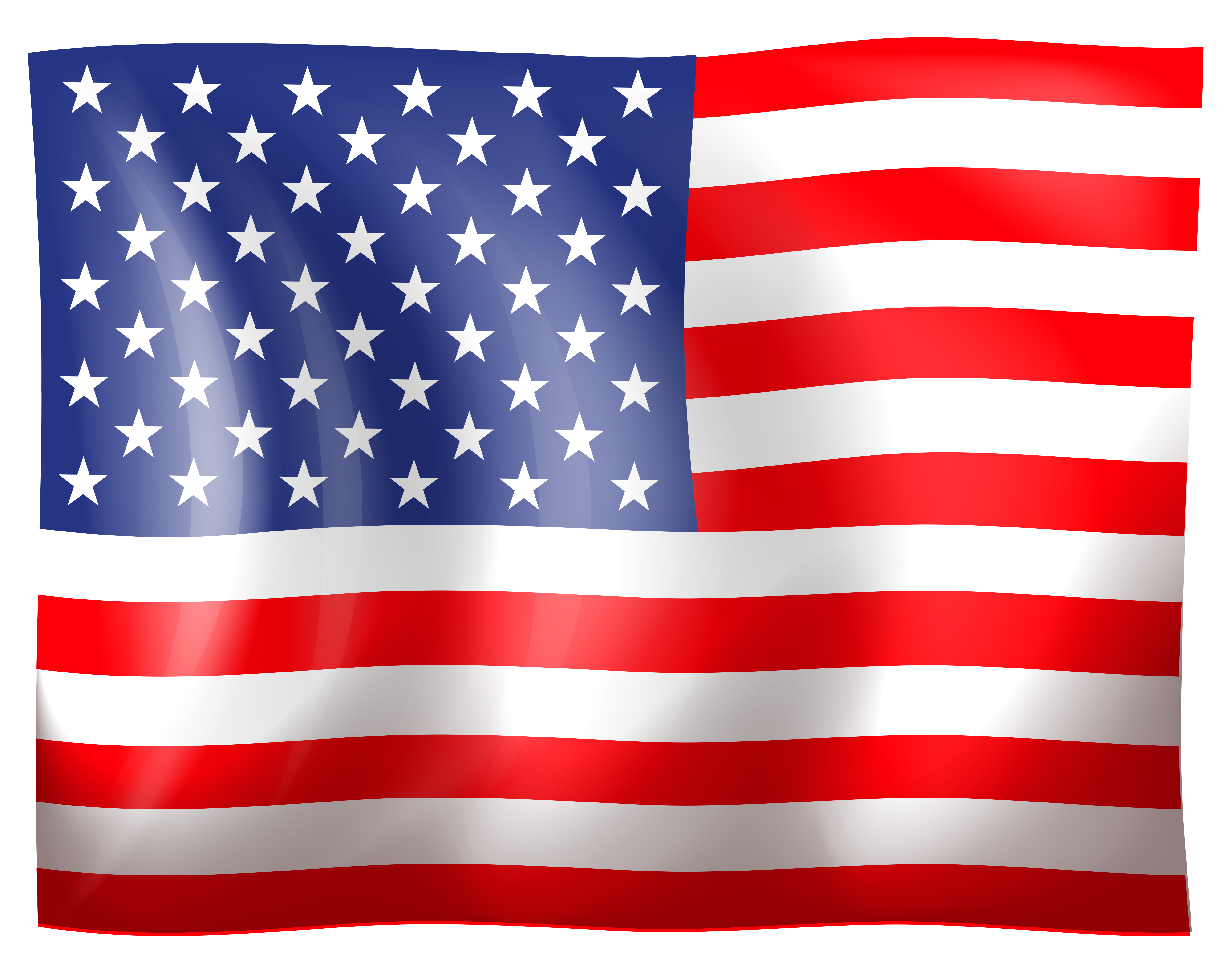 USA Flag Clipart. View full .-USA Flag Clipart. View full .-13