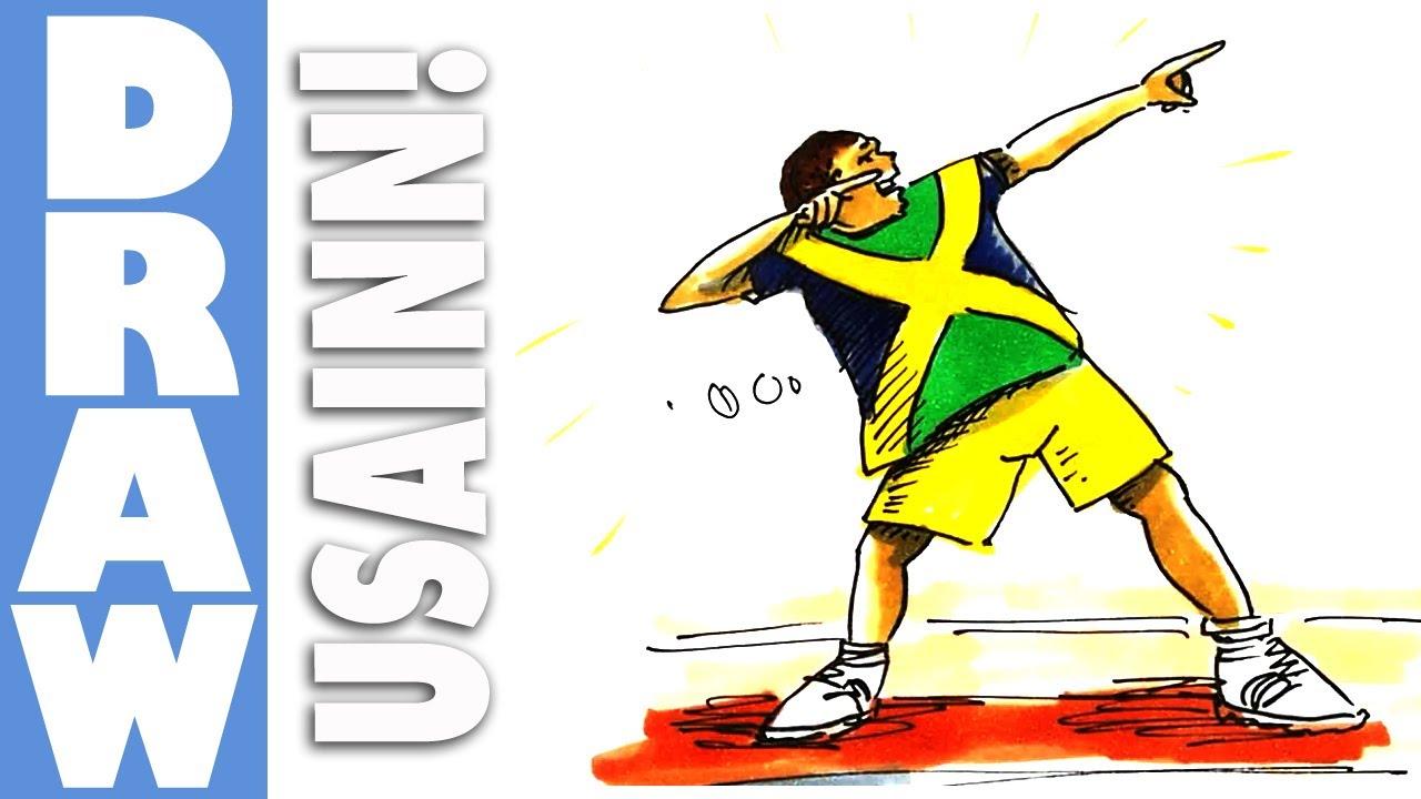 Usain Bolt Clipart-Clipartlook.com-1280